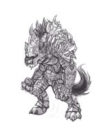 Gnoll conept 02 by Knockwurst