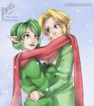 [COMMISSION] Link and Saria by Edo--sama
