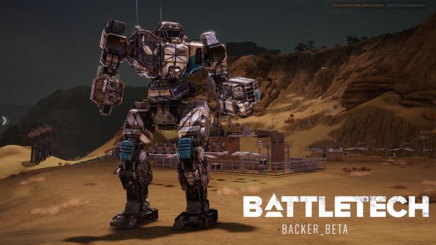 Battletech (2017) Beta: Trebuchet by carmenara
