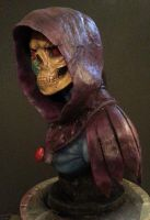 Skeletor Bust  Done 02 by Rengoku-Okamikumo
