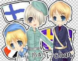 APH- sealand-finland n sweden by jaejooong