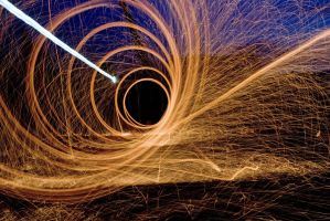 Steel Wool Fireball by JennDixonPhotography