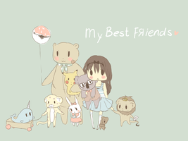 My best friends by cheese-drop