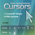 Semi-transparent Cursors by k-net