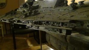 BELLATOR CLASS STAR DESTROYER new lighting bg 12 by THE-WHITE-TIGER