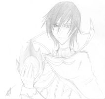Lelouch - Code Geass Fan Art by CrypticGrin