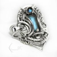 IXARTULX Silver and Labradorite by LUNARIEEN