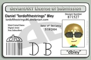 Deviant ID Card by lordofthestrings86