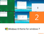 Windows 8 theme for 7 2 by Shelkadom