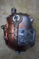 Steampunk Industrial Skull - Top by Devilish--Designs