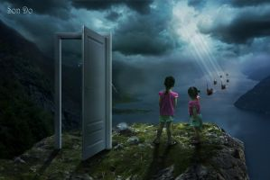 The marvellous door by Son-Do