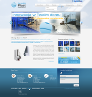 GlassPlast WEBDESIGN by blendix