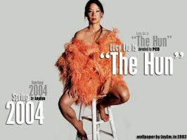 "Lucy Liu is ""The Hun"" by jayem187"
