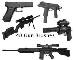 Gun Brushes by Chrippy