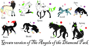 Angels of Diamond Breedable by blackwolf8994