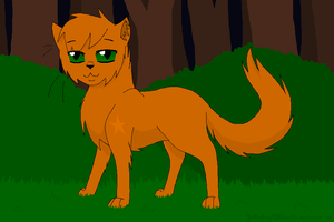 Firestar by YellowfangOfStarclan