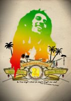 Bob Nesta Marley by artwarriors