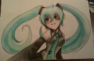 Miku- Make me to smile by DeadGotashi