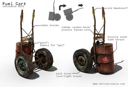 Fuel Cart prop by Spex84