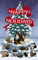 Vet Holiday Card 2010 by mscorley