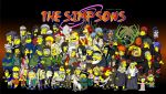 Naruto as The Simpsons by lloydvdw
