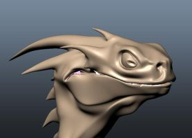 DragonHead by muttleymark