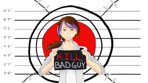 Minx Kill The Bad Guy Titlecard by MarchBunny