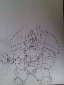 Wow Dwarf by Mogollin