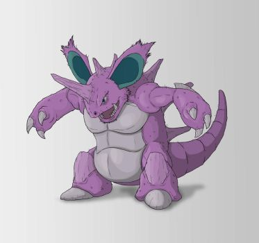 Nidoking by SilverLeon88
