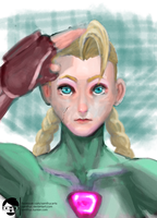 Cammy - STREET FIGHTER CHARACTER PORTRAIT #2 by samfruc