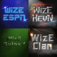 WizE Youtube Profile Pictures (Photoshop) by WizE-KevN