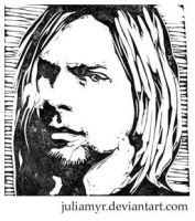 Kurt Cobain by JuliaMyr