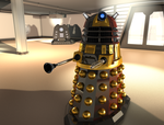 Lone Dalek by one-broken-dream