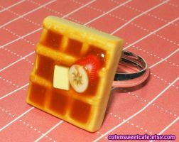 Fruit Slices Waffle Ring by pinknikki