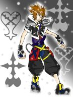 kindom hearts Sora by SuZu-chan99