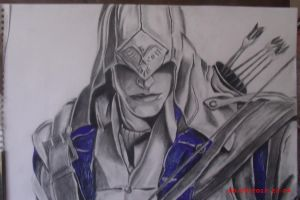 Assassin's creed 3 connor by Benecry1342