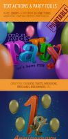 Party Tools Kit - 300 DPI Actions, PSD, Brush by survivorcz