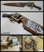 FFVIII Gunblade WIP by fevereon