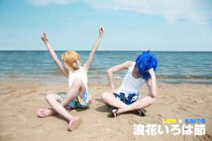 len and kaito's summer holiday by 0066