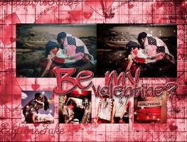 Be my valentine PSD by TakeMySwag