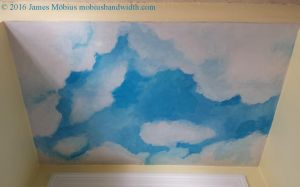Small Sky Mural Ceiling Alcove by J-Mobius