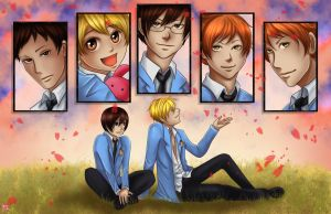Ouran High by TyrineCarver