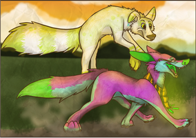 Out for a Stroll -SS- by Doodle-Dreams