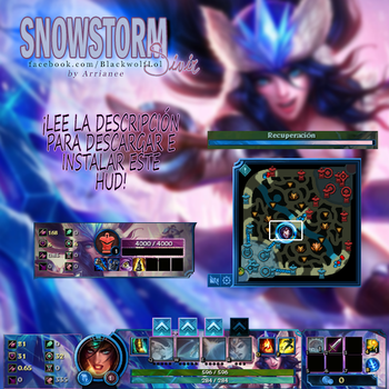 SnowStorm Sivir Hud League of Legends by arrianee