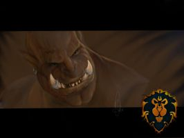 Orc - world of Warcraft  by holger111