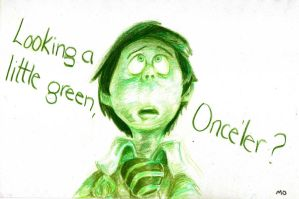 Looking a little green, Once'ler? by Mia-Oneill