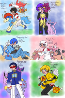 TF - humanized!Cybermon Trainers part 1 by Cloud-Kitsune