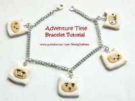 Tutorial: Adventure Time Finn Bracelet by NerdEcrafter