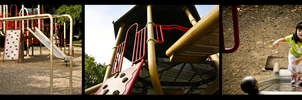 The Playground Triptyc by BurntStrawberry