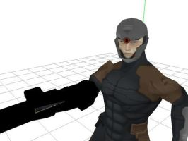 grey fox MMD wip by sky-commander